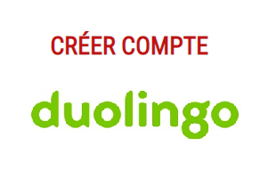 S'inscrire sur Duolingo