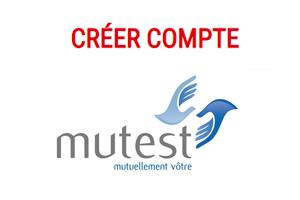 Créer un compte Mutest.