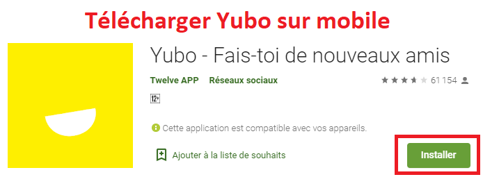 Télécharger Yubo sur mobile