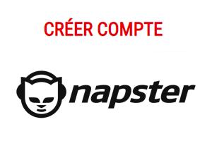 Créer un compte Napster gratuit
